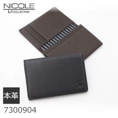 NICOLE 本革カードケース